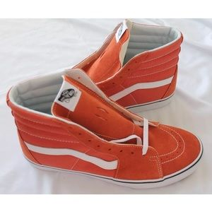 Vans hi top sk8 sneakers shoes sz 11 autumn glaze